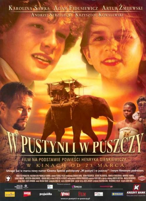 """Henryk Sienkiewicz- """"W pustyni i w puszczy"""""""